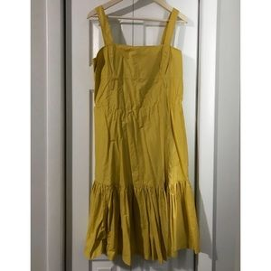 Designer MaxMara Yellow Dress